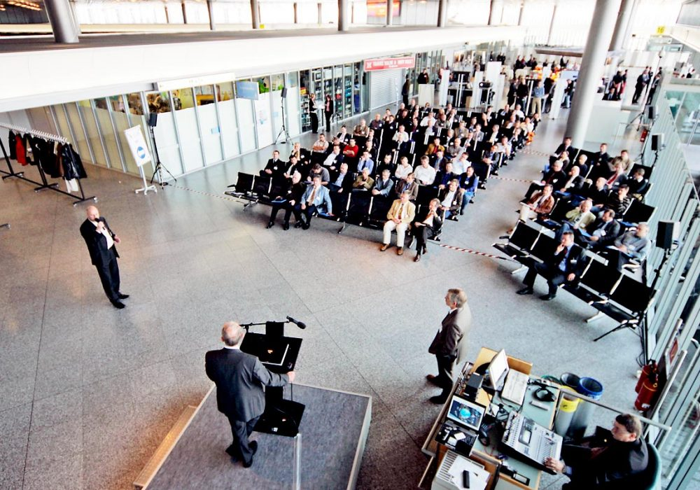Air IT Systems - Securityday Airport Hannover Topview Präsentation
