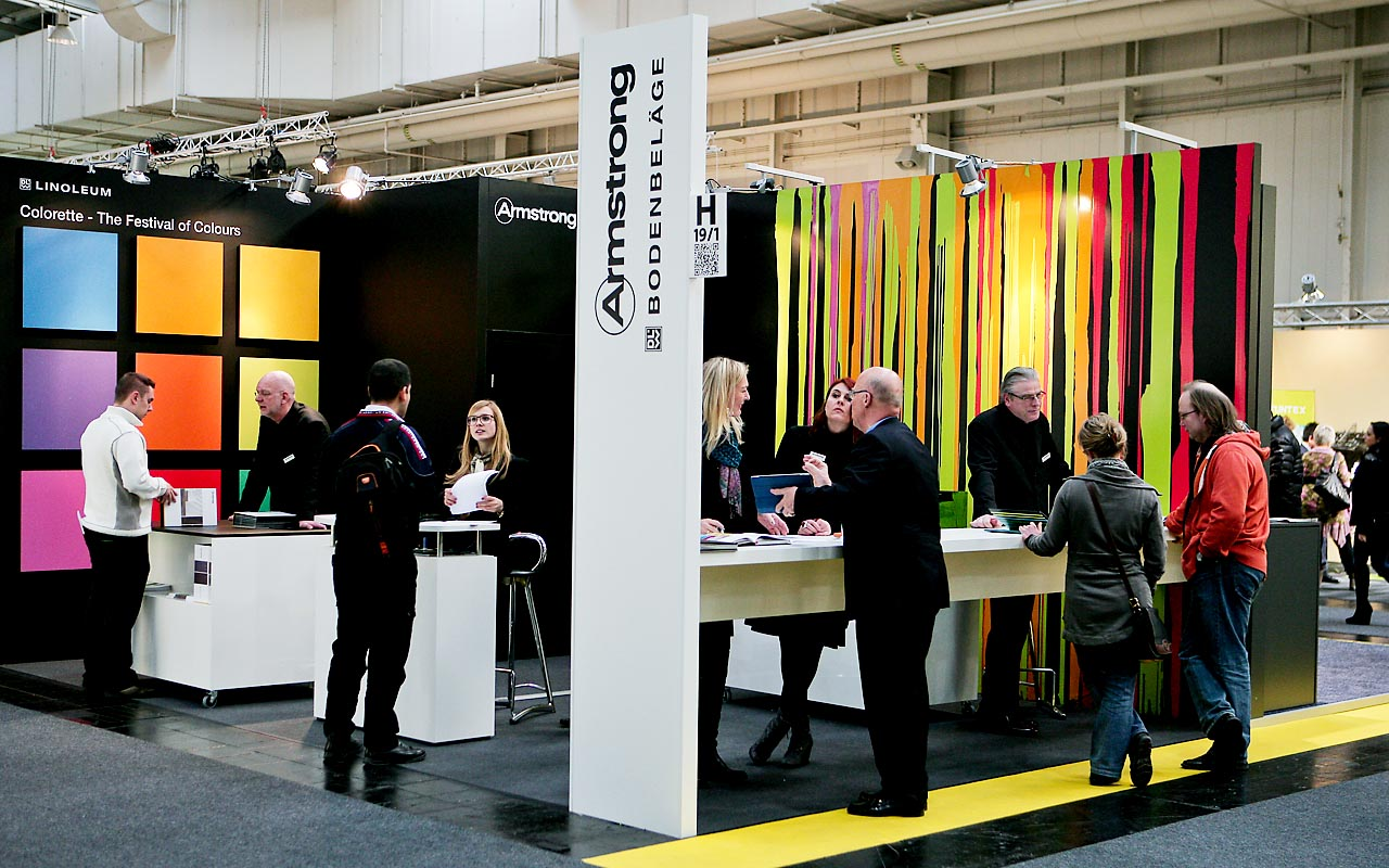 Deutsche Messe AG - DOMOTEX Armstrong Messestand