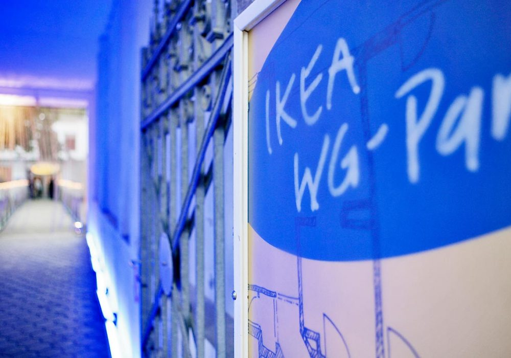 IKEA WG Party Hamburg - WG Party Logo