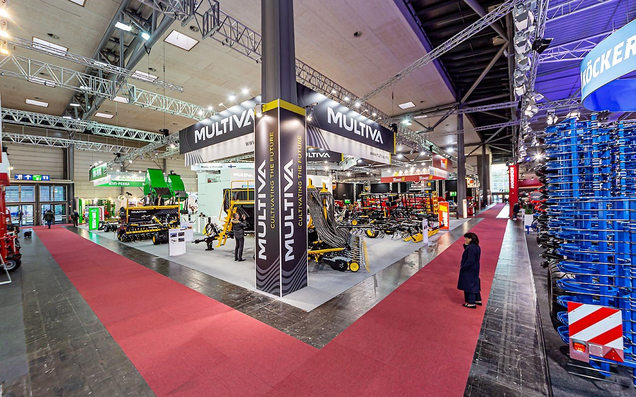 Claas - Agritechnika - Product release Messestand Multiva