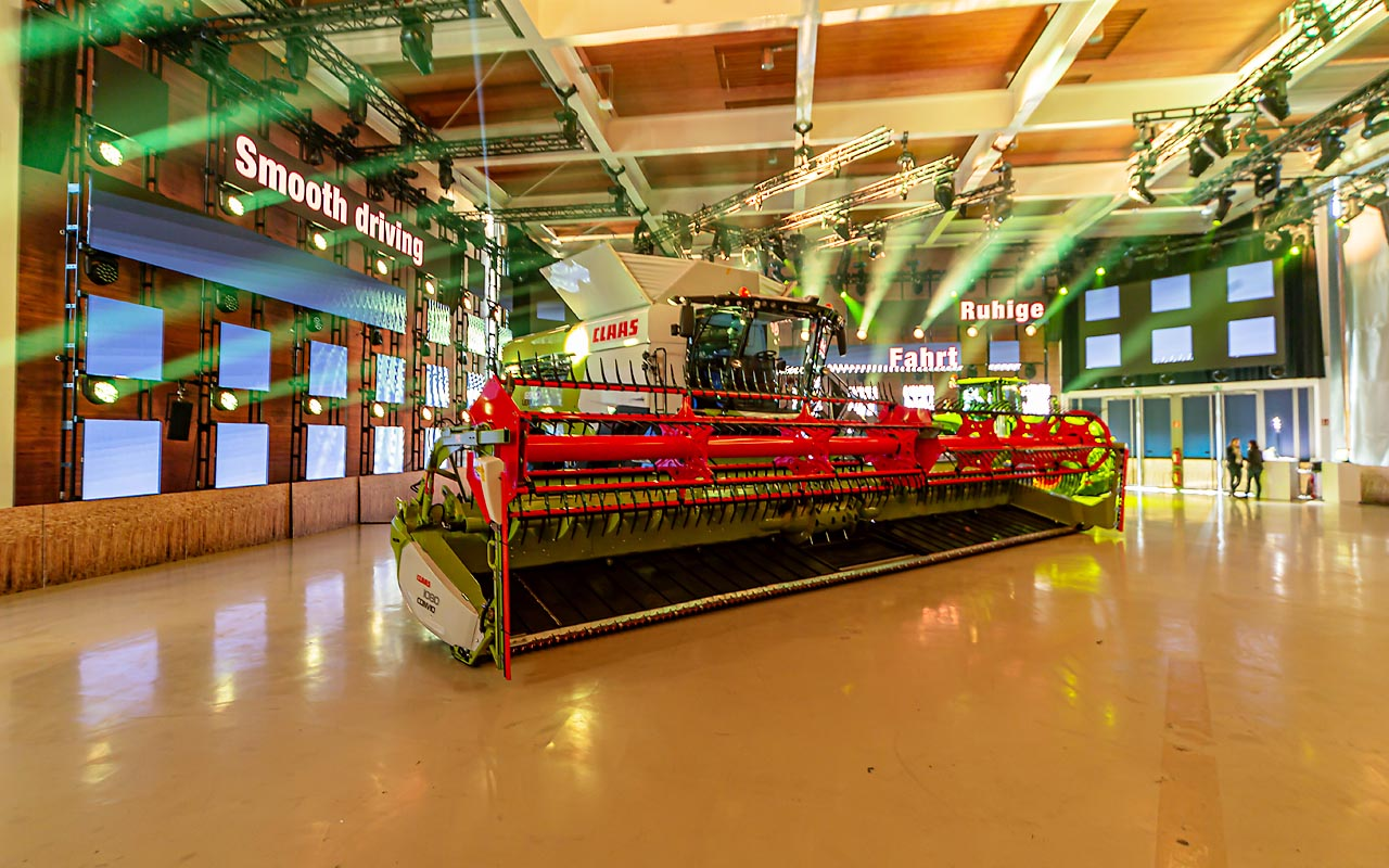 Claas - Agritechnika - Product release Stage Product